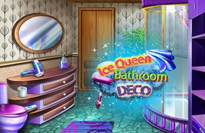 Ice Queen Bathroom Decoration