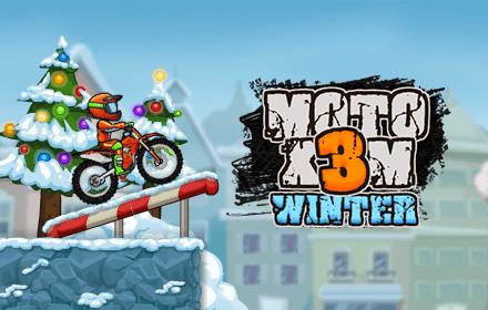 Moto X3m Winter Free Online Games Bgames Com
